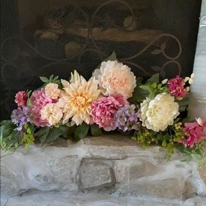Faux flowers- arrangement from Hobby Lobby